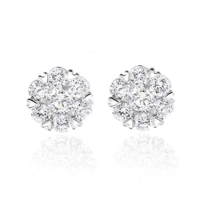 Gerard McCabe Bloom Diamond Earrings