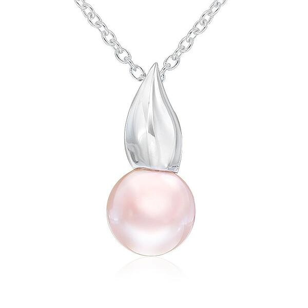 Pink freshwater pearl