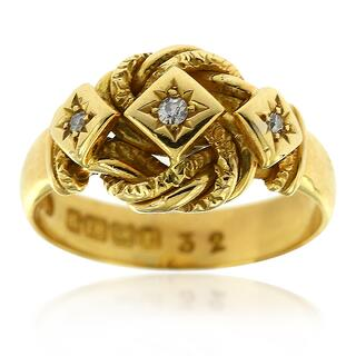 Antique Lover Knot Ring