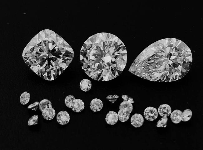 Jackie_Head_Office_-_Black_and_White_photo_of_our_beautiful_diamonds_as_they_go_through_our_hand_selection_process.