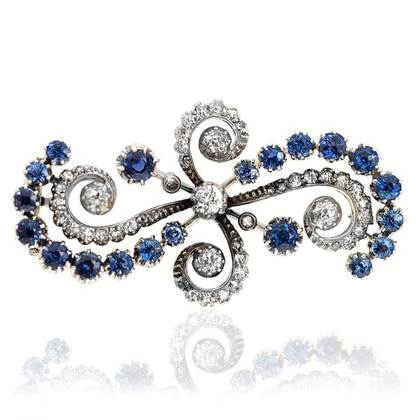 311539-1 Sapphire and Diamond