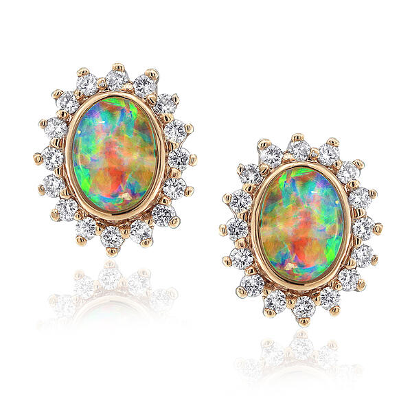 Coober Pedy Opal Earrings in Adelaide