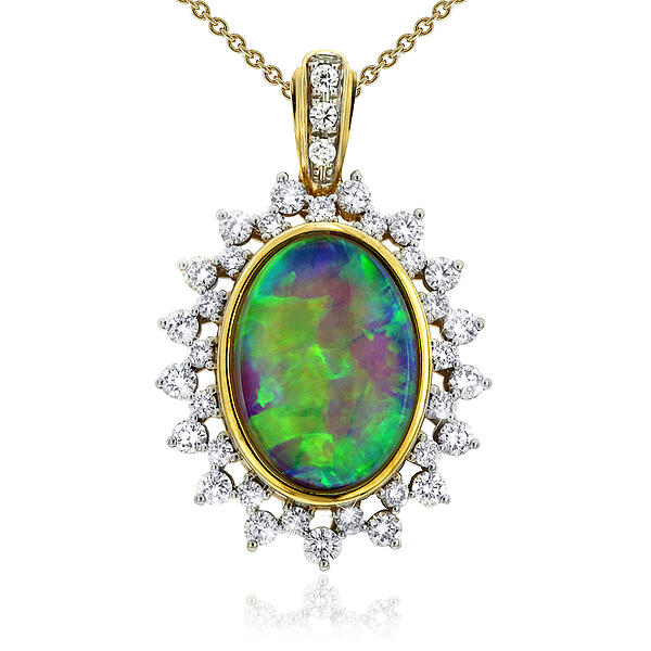 Coober Pedy Opal Pendant in Adelaide