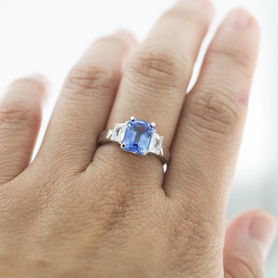 Aeon Sapphire Ring in Adelaide