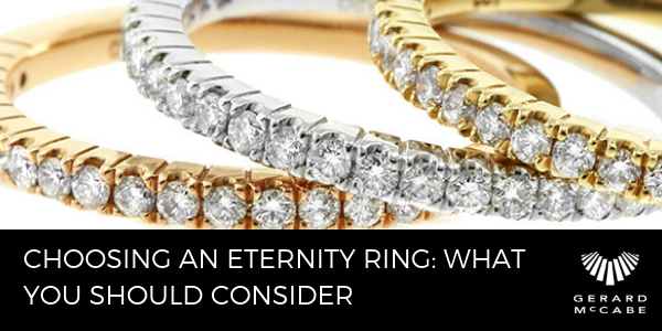 Choosing an Eternity ring- what should you consider-