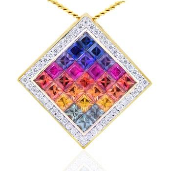 Gerard McCabe Kaleidoscope Sapphire Pendant