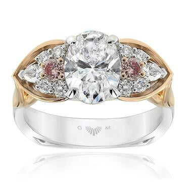 Eagle Oval Diamond Ring