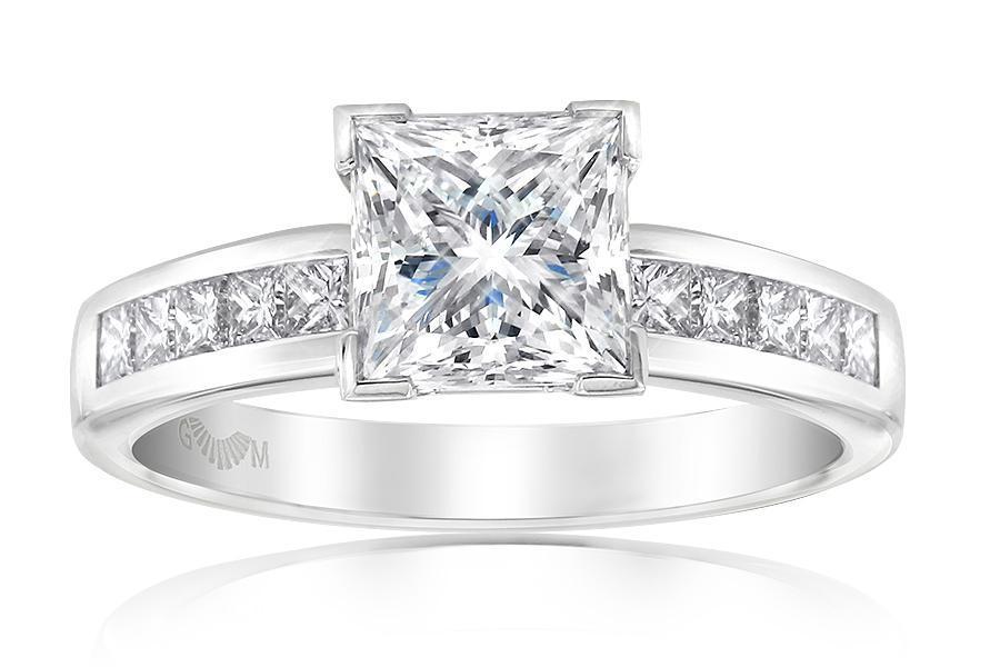 Elegance Princess Cut Diamond Ring