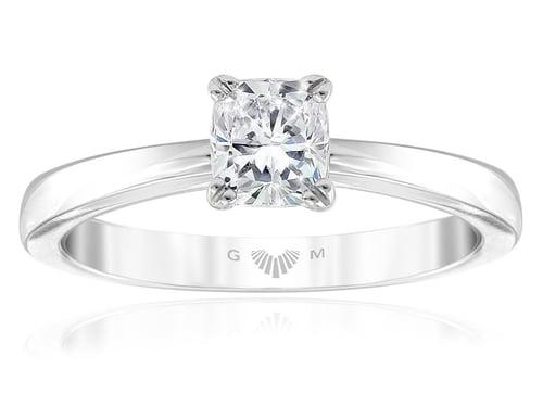 GMAC - Celeste Classic Cushion Diamond Engagement Ring