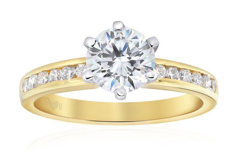 GMAC - Elegance Engagement Ring - Yellow Gold