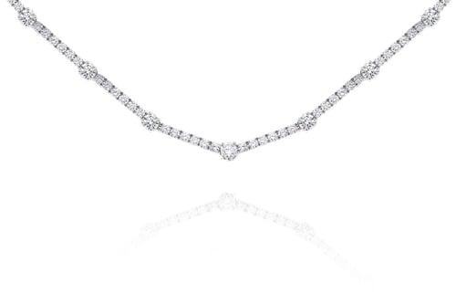 GMAC Class diamond necklet