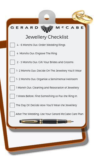 Jewellery Checklist