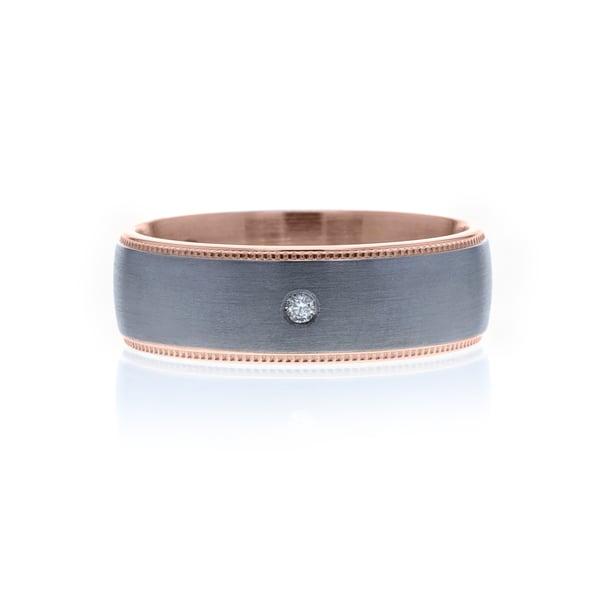Diamond wedding rings for men in Adelaide