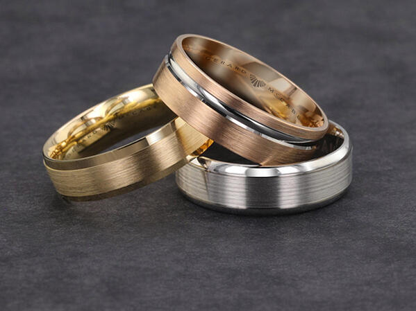 palladium wedding ring wow