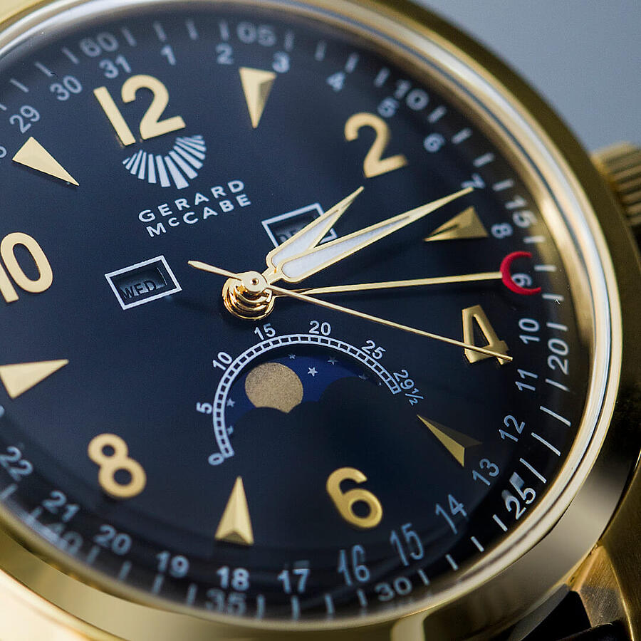 Lunar Timepiece - A Moon Phase Watch for Men