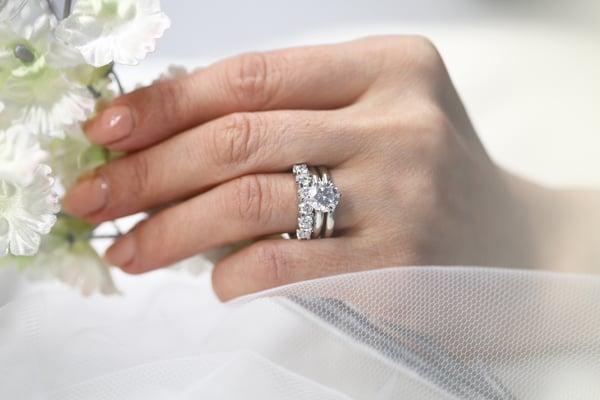 Classic Bridal Ring set
