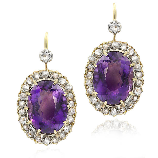 Antique Amythest | Gerard McCabe Premier Diamond Jewellers Adelaide