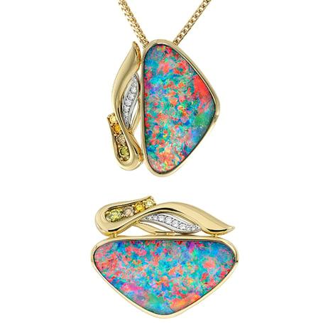 eagle-pendant-opal
