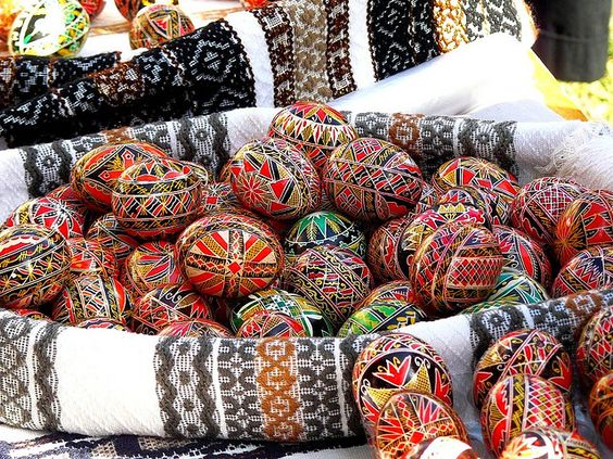 "Gerard McCabe Diamond Jewellers ""Traditional Romanian Easter Eggs"""