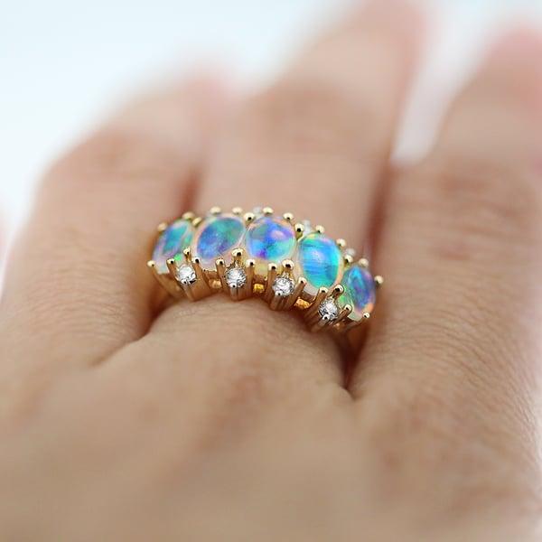 Australian Opal Ring for sale in Adelaide
