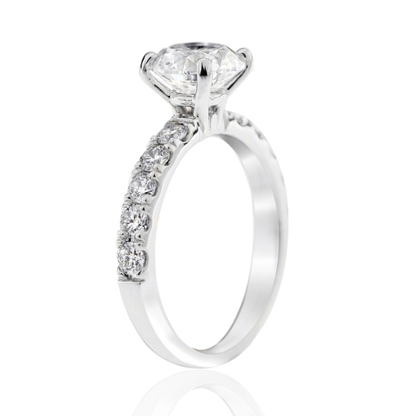 Aria 2.00ct side profile