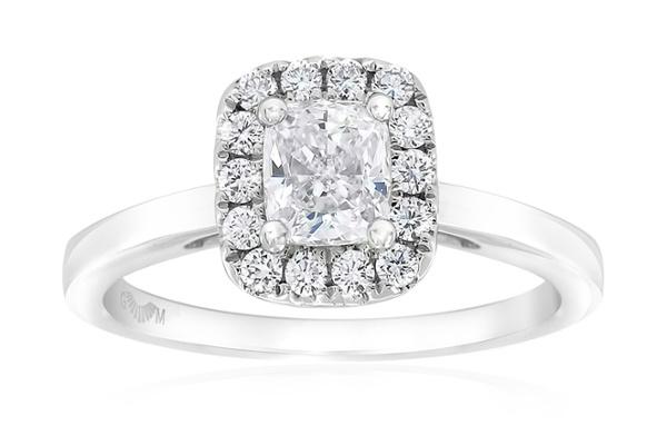 Gerard McCabe Aura Classic Cushion Cut Engagement Ring