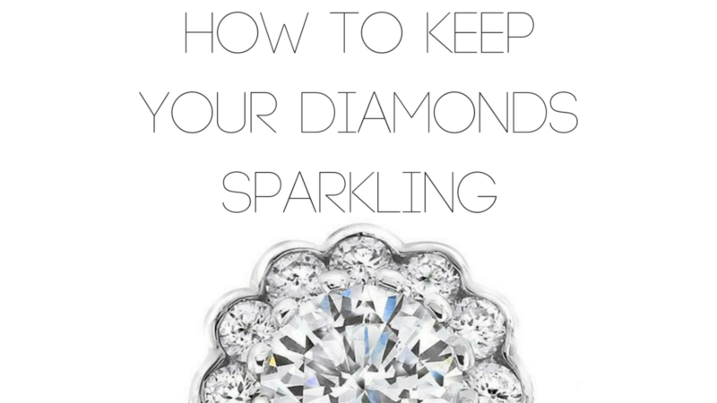 Gerard McCabe How to Keep Your Diamonds Sparkling
